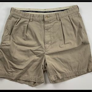 Men's Polo Ralph Lauren Khaki Tan Shorts Cotton 36